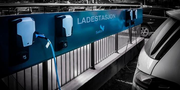 Ladestasjon for borettslag - Salto. CLU er løsningen